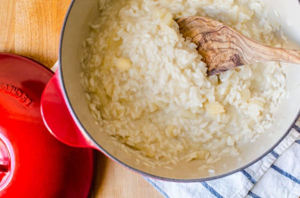 Risotto with Taleggio Cheese, Pears, and Walnuts | veryEATalian-8