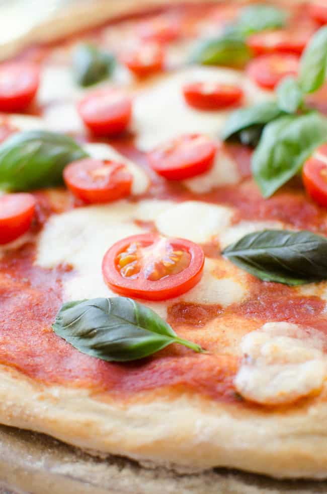 Pizza Margherita with Cherry Tomatoes | veryEATalian-10