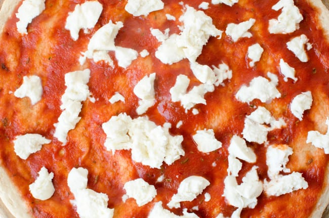 Pizza Margherita with Cherry Tomatoes | veryEATalian-11