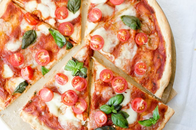 Pizza Margherita with Cherry Tomatoes | veryEATalian-2