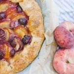 Rustic Peach Crostata and a Picnic in my Dad's Orchard