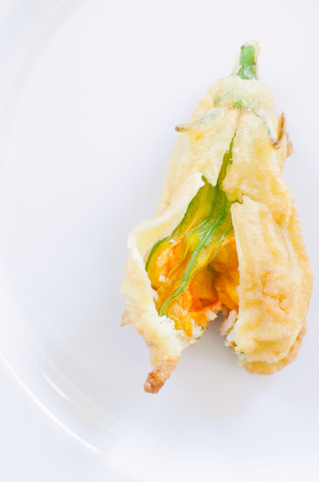 Crispy Fried Zucchini Blossoms | veryEATalian