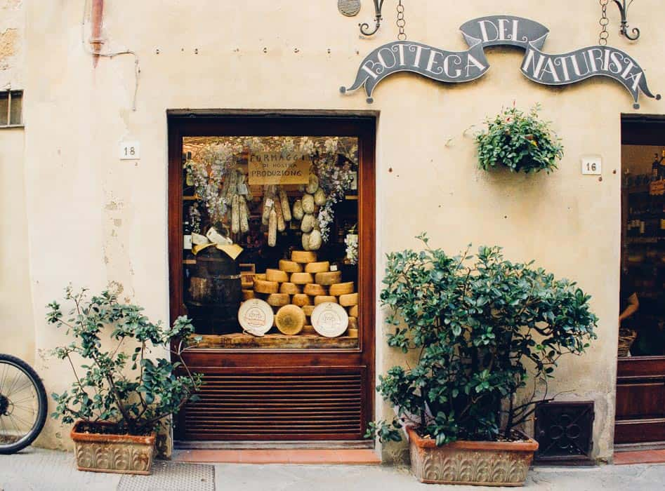 My trip in Tuscany: cute shop in Pienza| Very EATalian