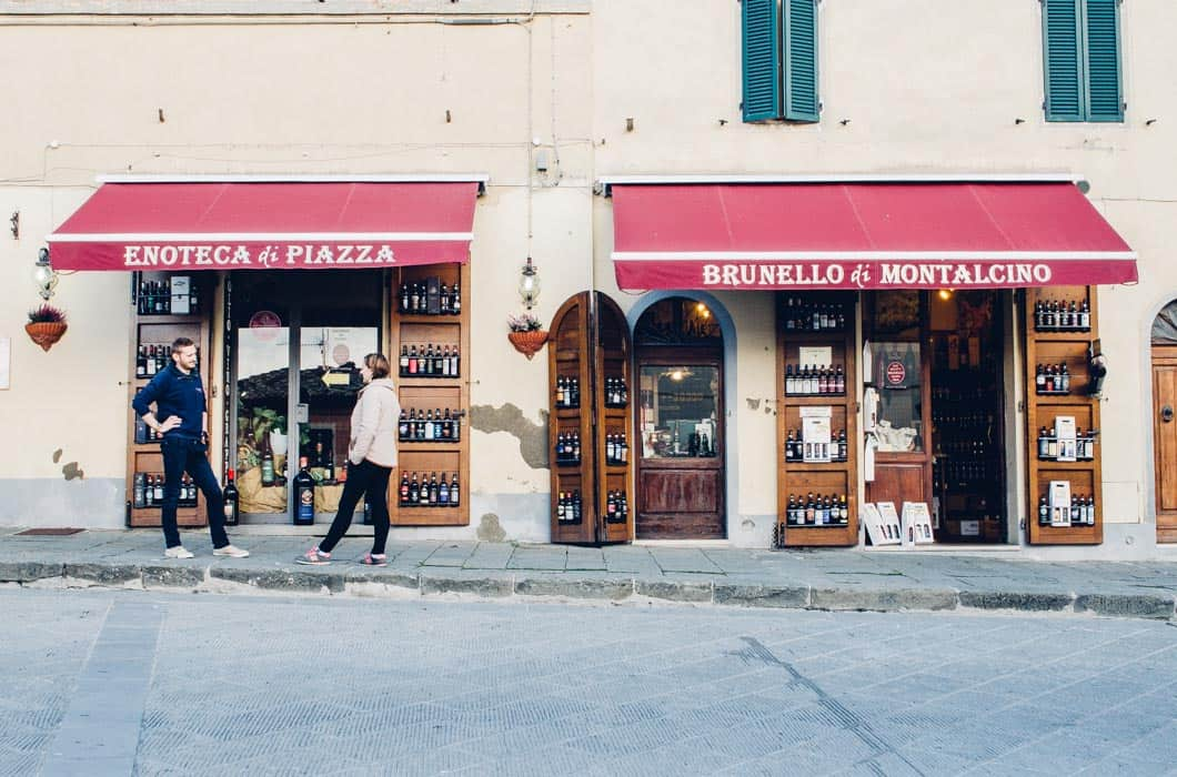 Wine shopping in Montalcino, Tuscany| Very EATalian