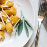 Fluffy Pumpkin Gnocchi with Smoked Ricotta
