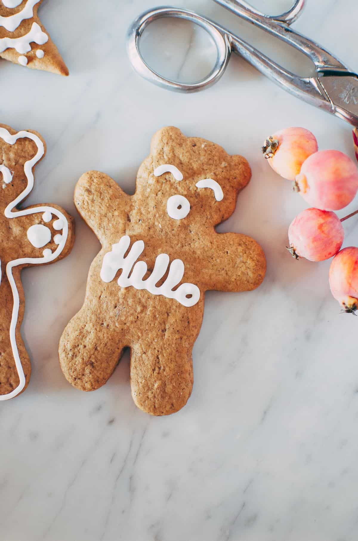 Swedish Ginger Cookies (Pepparkakor)| VeryEATalian