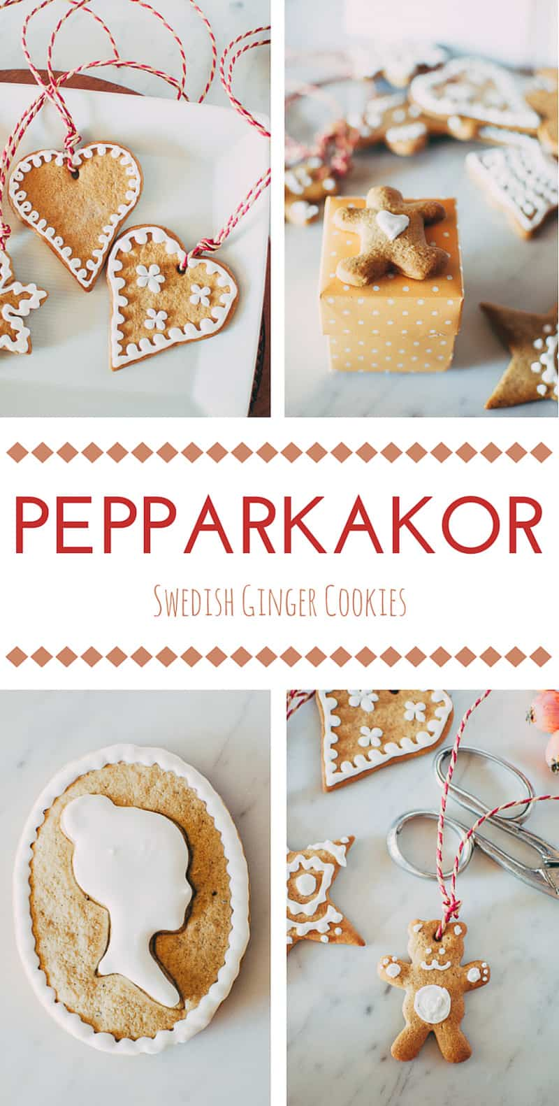 Swedish Ginger Cookies (Pepparkakor)
