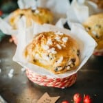 Quick Panettone Muffins