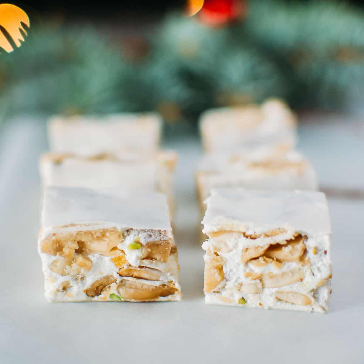 Soft Torrone: Italian Christmas Nougat Candy