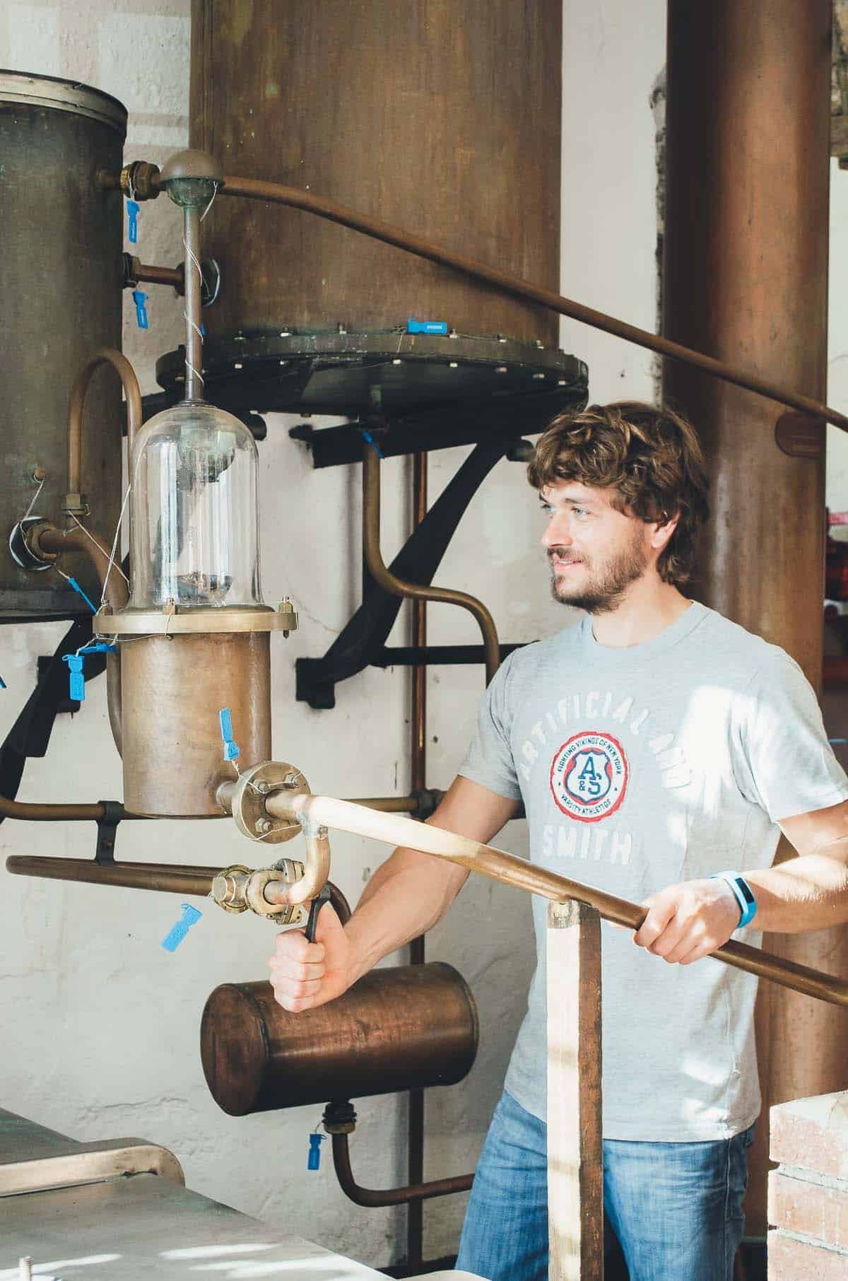Behind the Scenes of a Grappa Distillery | Very EATalian