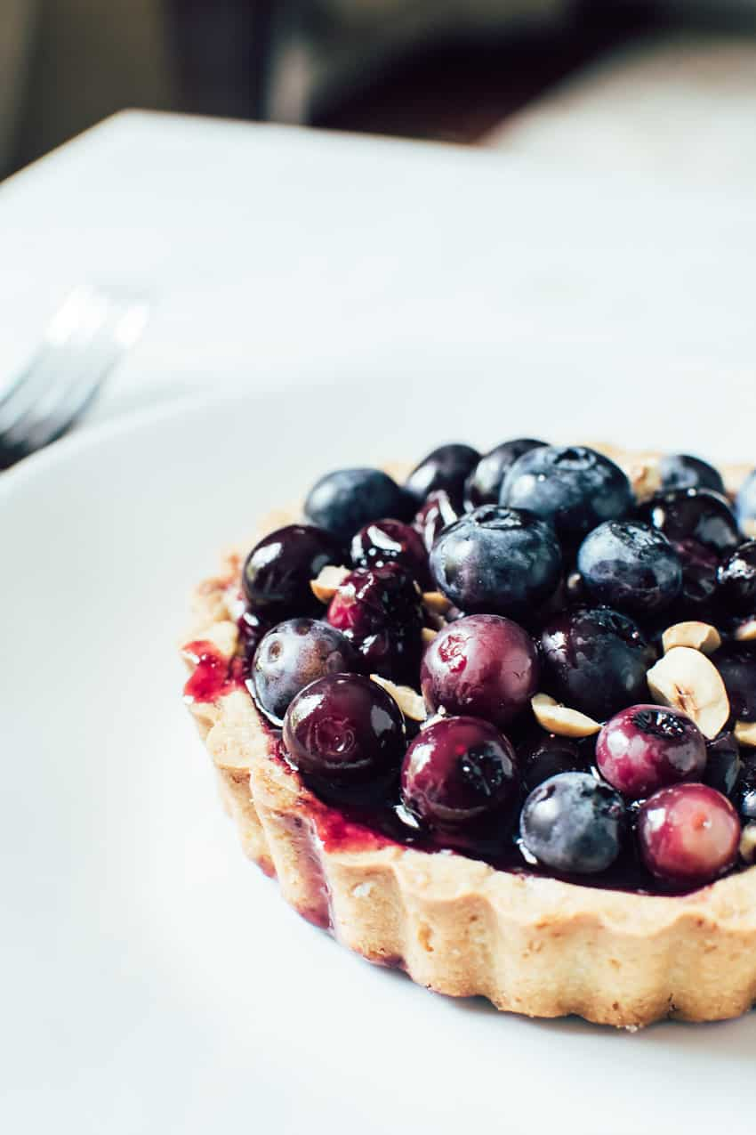 Whole Wheat Blueberry Hazelnut Tartlets | veryEATalian