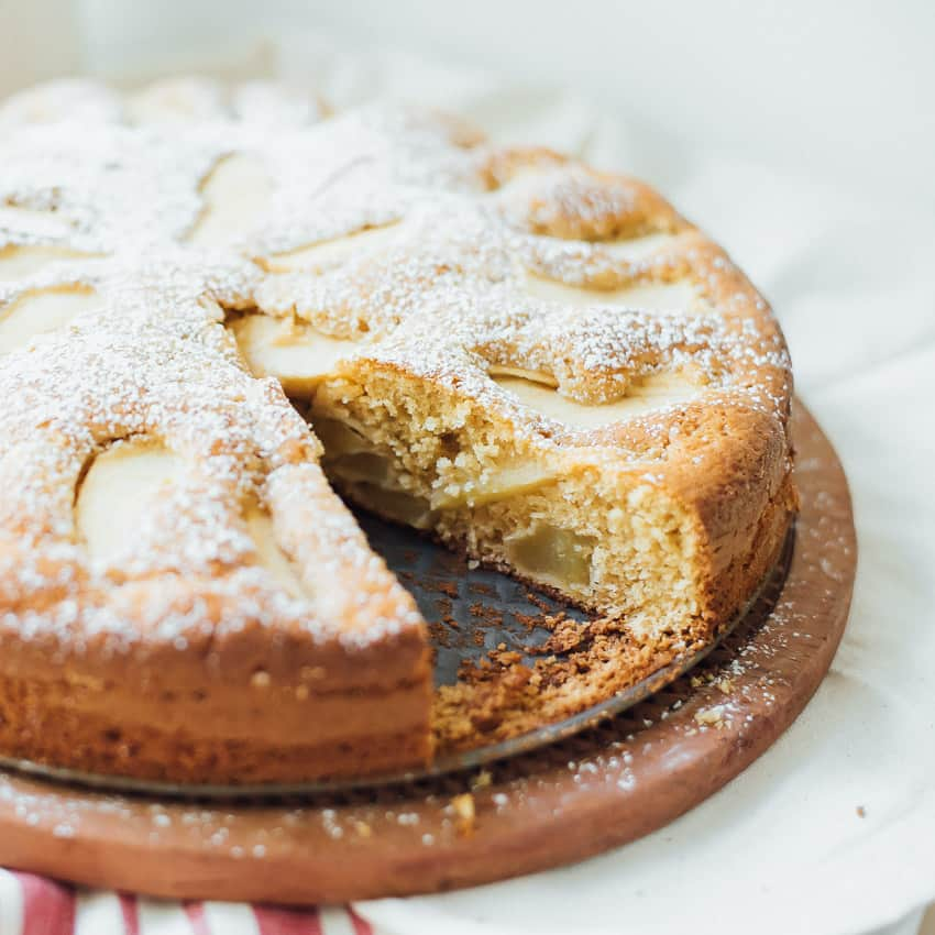 Simple Apple Cake Recipe Without Butter